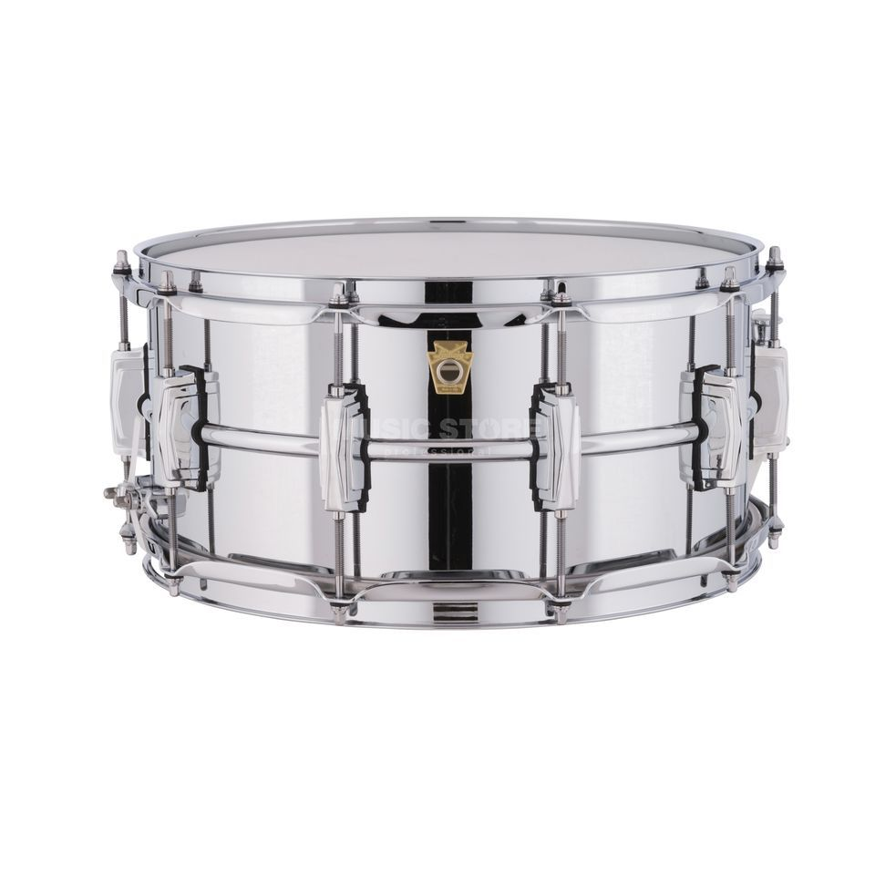 "Ludwig Snare LM402, 14""x6,5"", Chrome over Aluminium Product Image"