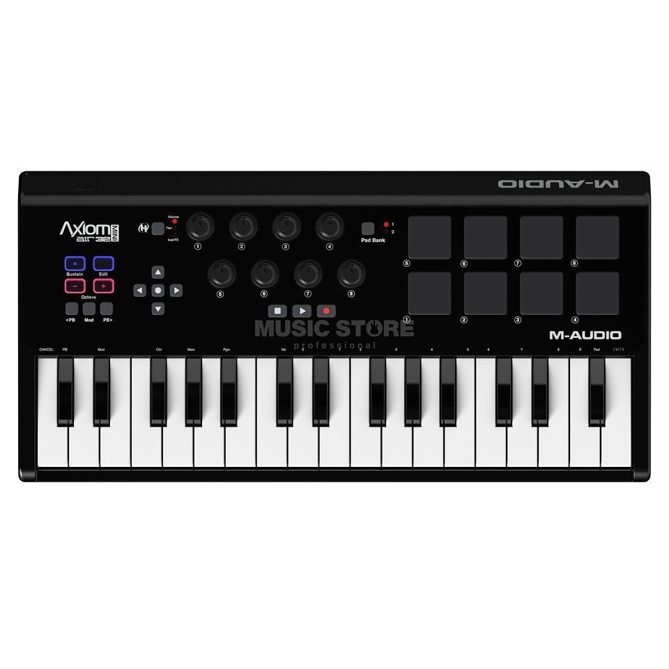 M-Audio Axiom A.I.R. Mini 32 Mini Controller Keyboard Produktbild