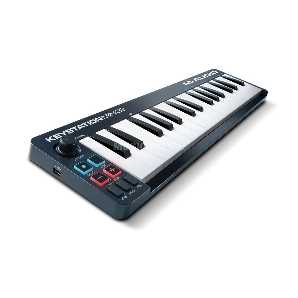 M-Audio Keystation Mini 32 Mk2 USB Masterkeyboard Produktbillede