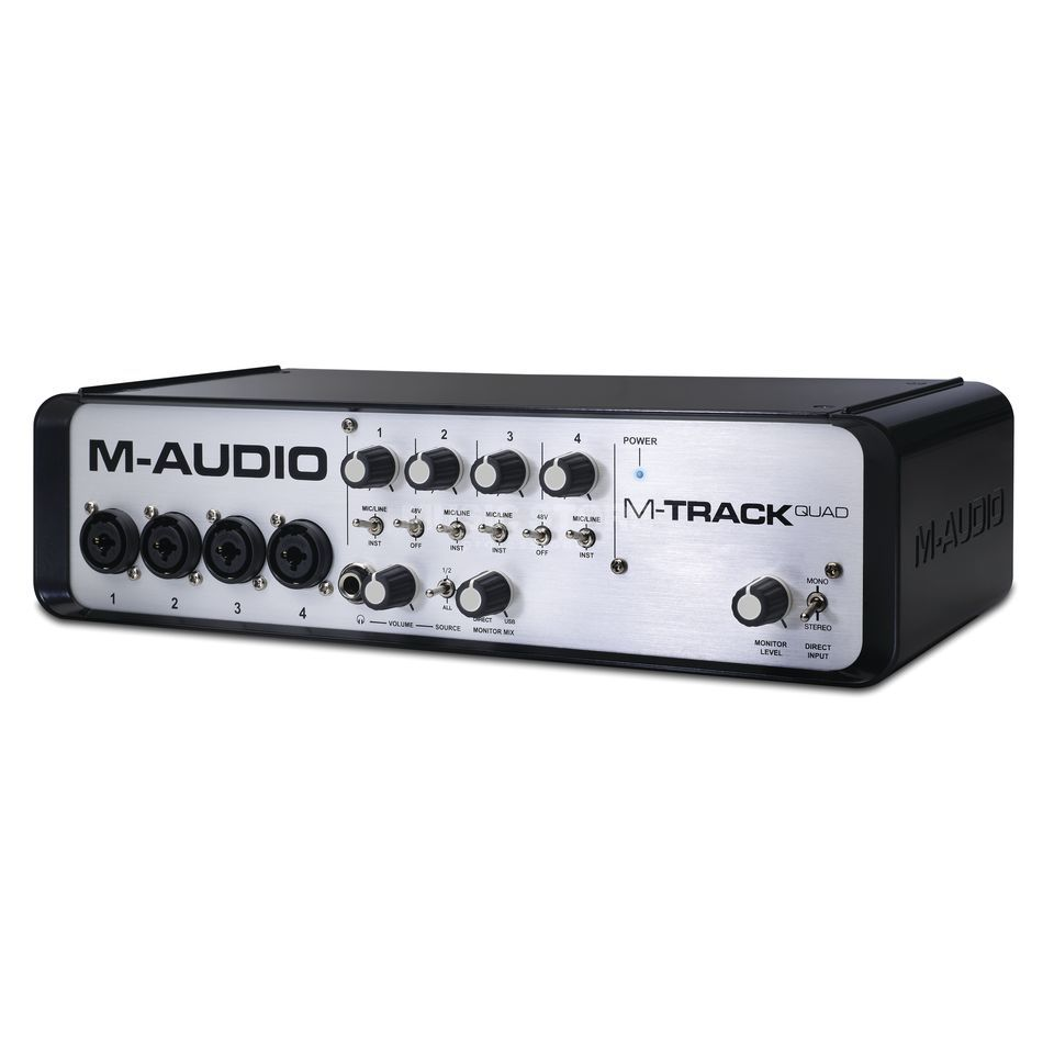M-Audio M-Track Quad USB Audio Interface Produktbild