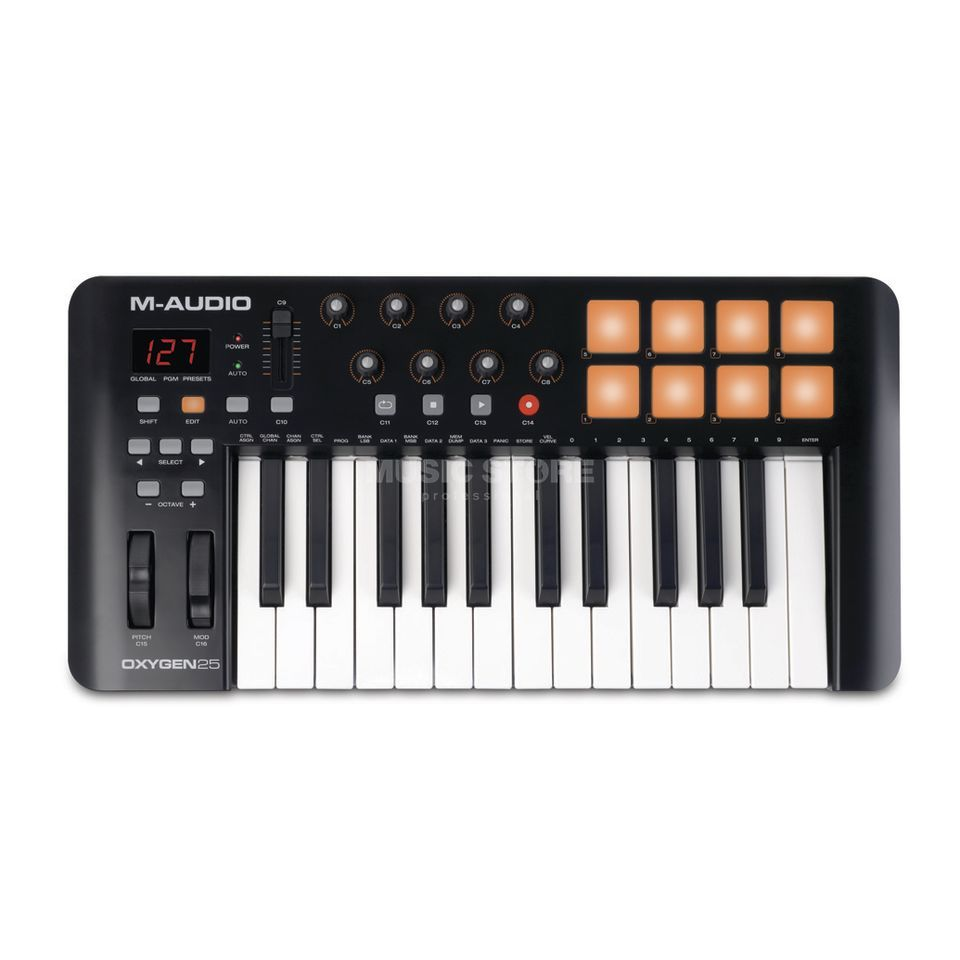 M-Audio Oxygen 25 mk4 USB Controller Keyboard Product Image