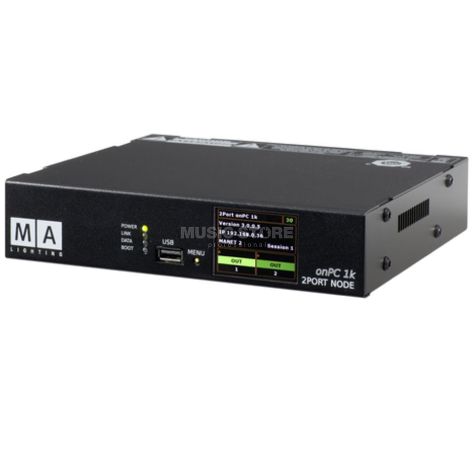 MA Lighting MA 2Port Node onPC 1K 1.024 Parameter Produktbild