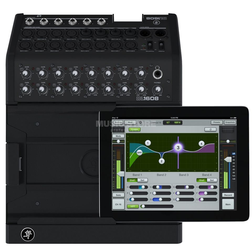 Mackie DL1608 Live-Mixer 16 Channels, iPad regulation Produktbillede