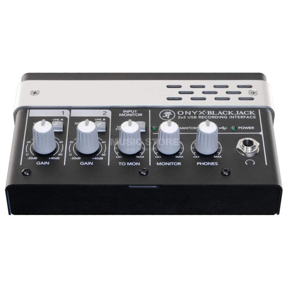 Mackie Onyx Blackjack Premium USB Audio Interface Produktbillede