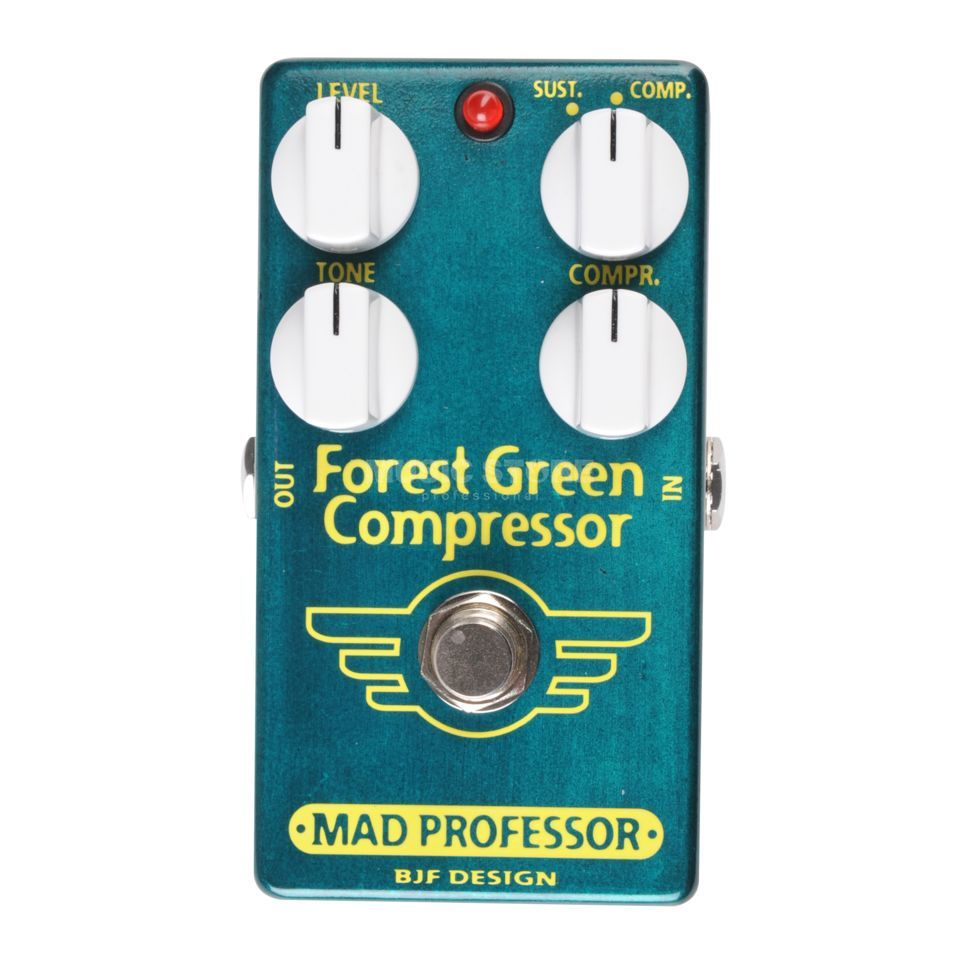 Mad Professor Forest Green Compressor Factory Made Produktbillede