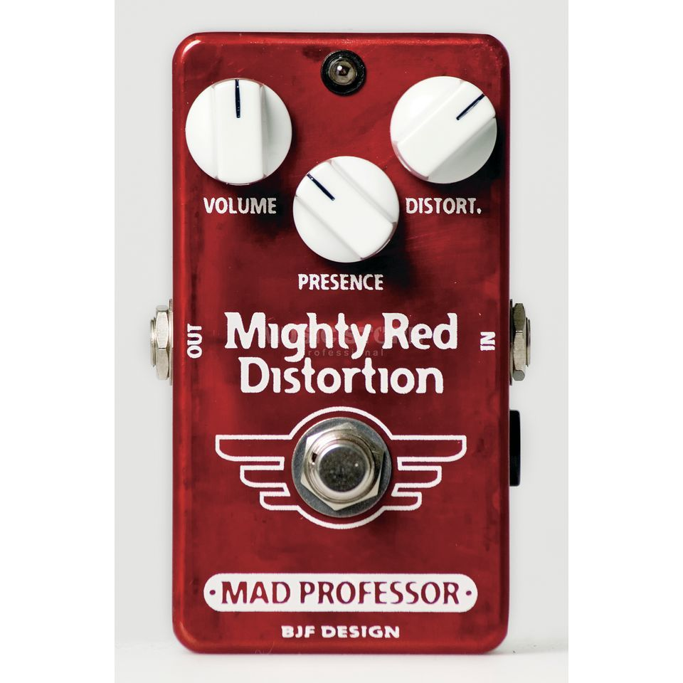 Mad Professor Mighty Red Distortion Handwired B-Stock Produktbillede