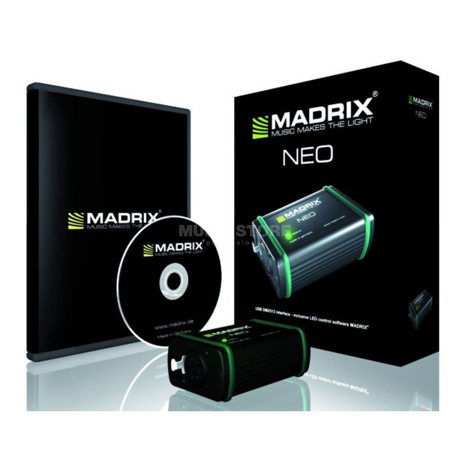 MADRIX NEO USB DMX512 Interface  Produktbillede