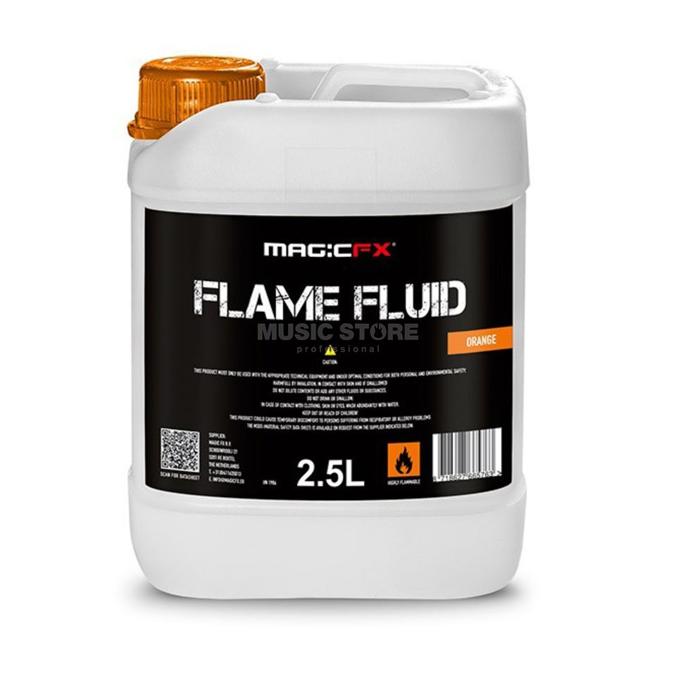 MagicFX Flame Fluid Orange 2,5L für Flamaniac Produktbild