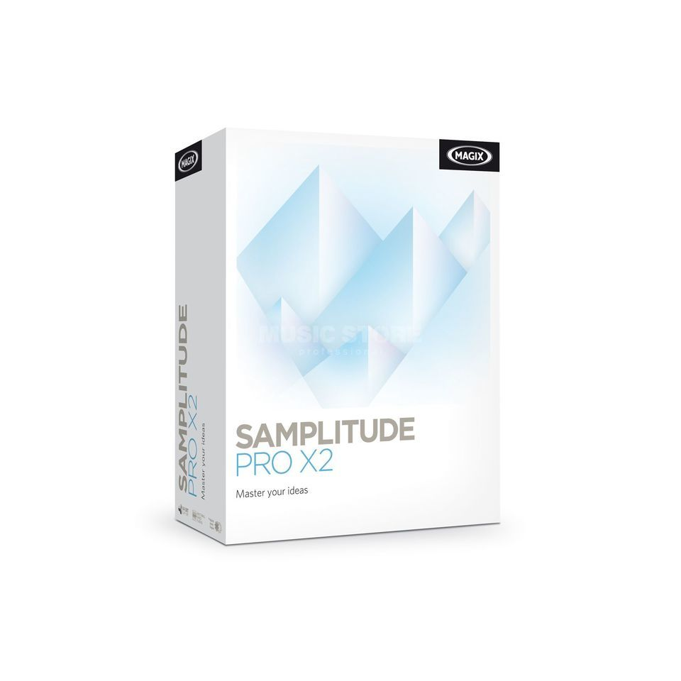 Magix Samplitude Pro X2 UP X1  Produktbild
