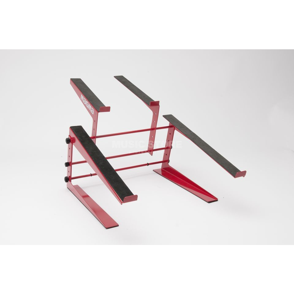 Magma Control-Stand (red) for DJ-Controller and Laptops Immagine prodotto