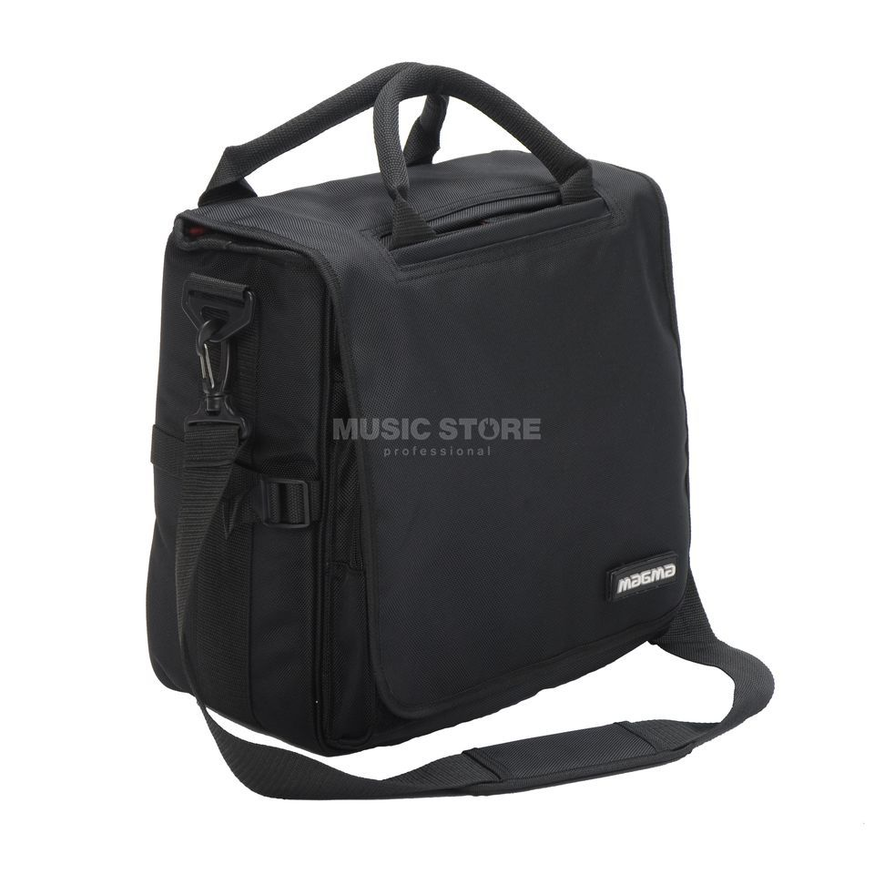 Magma LP Bag 40 Black DJ LP Bag for 80 Vinyls, Pad Product Image