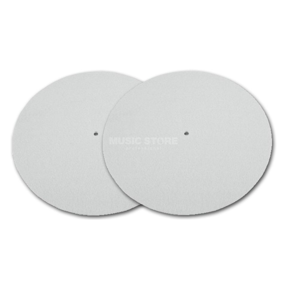Magma LP-Slipmat Blanco wit Productafbeelding