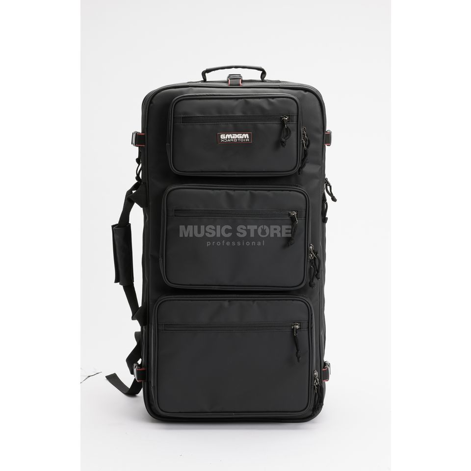 Magma Riot DJ-Backpack XXL black/red Image du produit