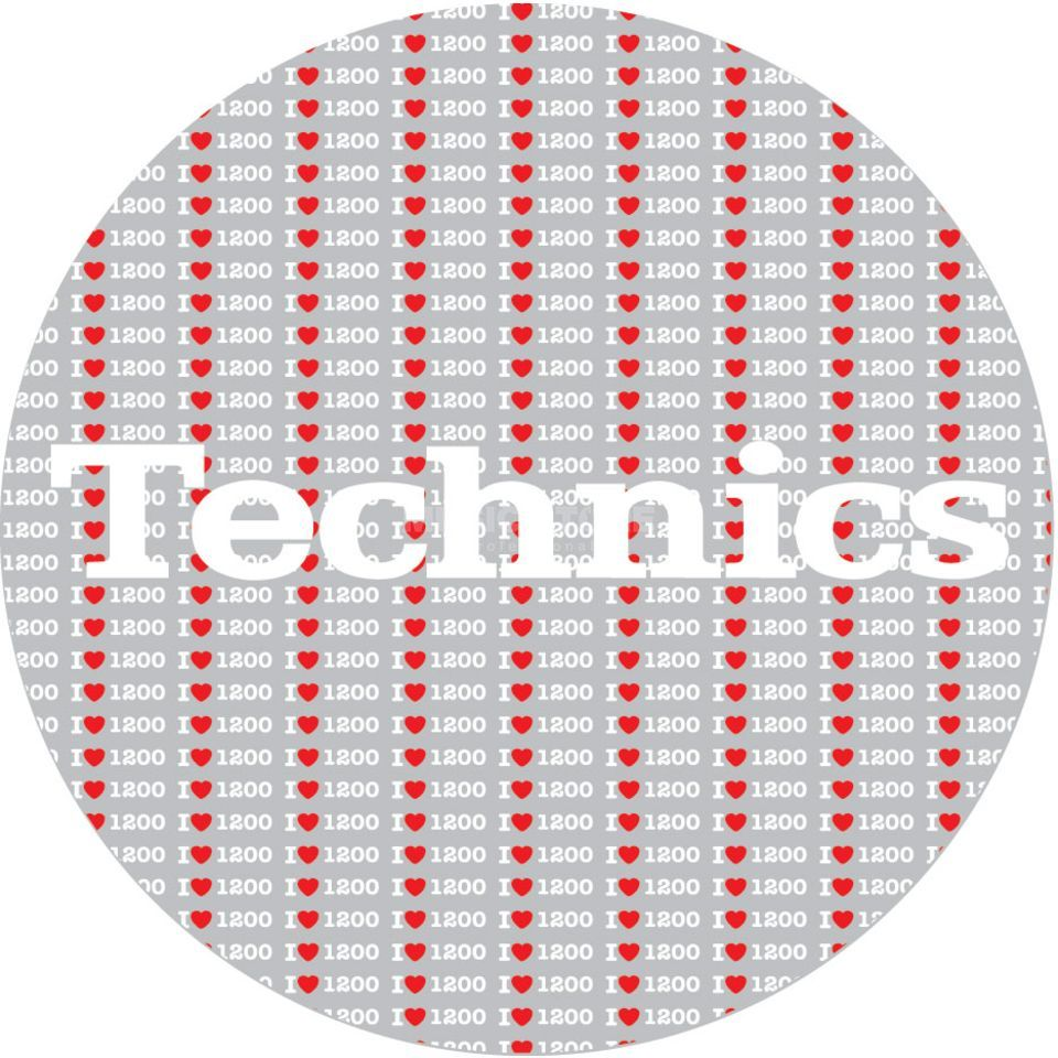 Magma Technics Slipmats 1200 Love  Productafbeelding