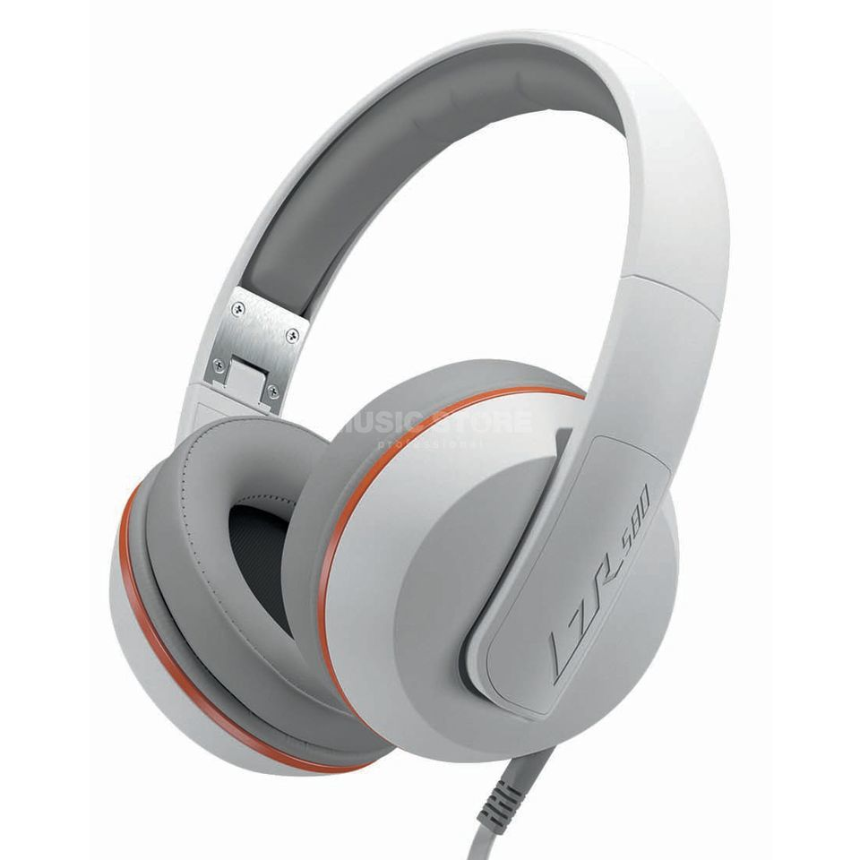 Magnat LZR 580 White vs. Orange Over-Ear Kopfhörer Produktbillede