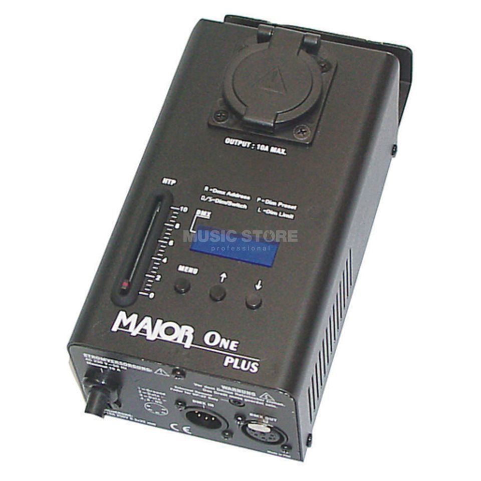 Major ONE PLUS 1-Kanal-Dimmer, DMX Product Image