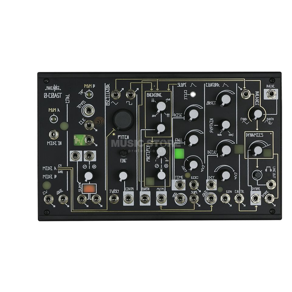 Make Noise 0-COAST Patchable Mono Synthesizer Zdjęcie produktu