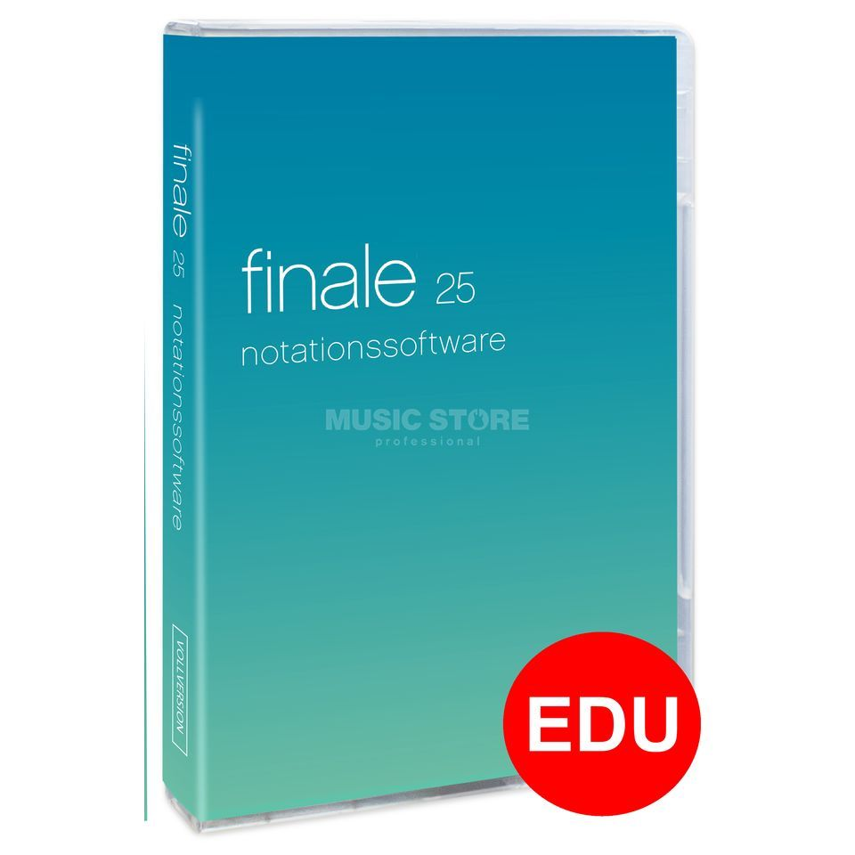 MakeMusic Finale 25 Educational Version Produktbild
