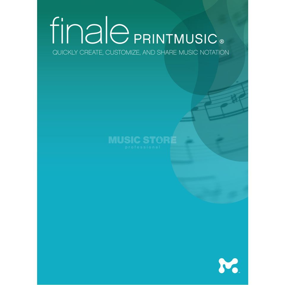 MakeMusic Finale PrintMusic 2014 DEU Notation Program Produktbillede
