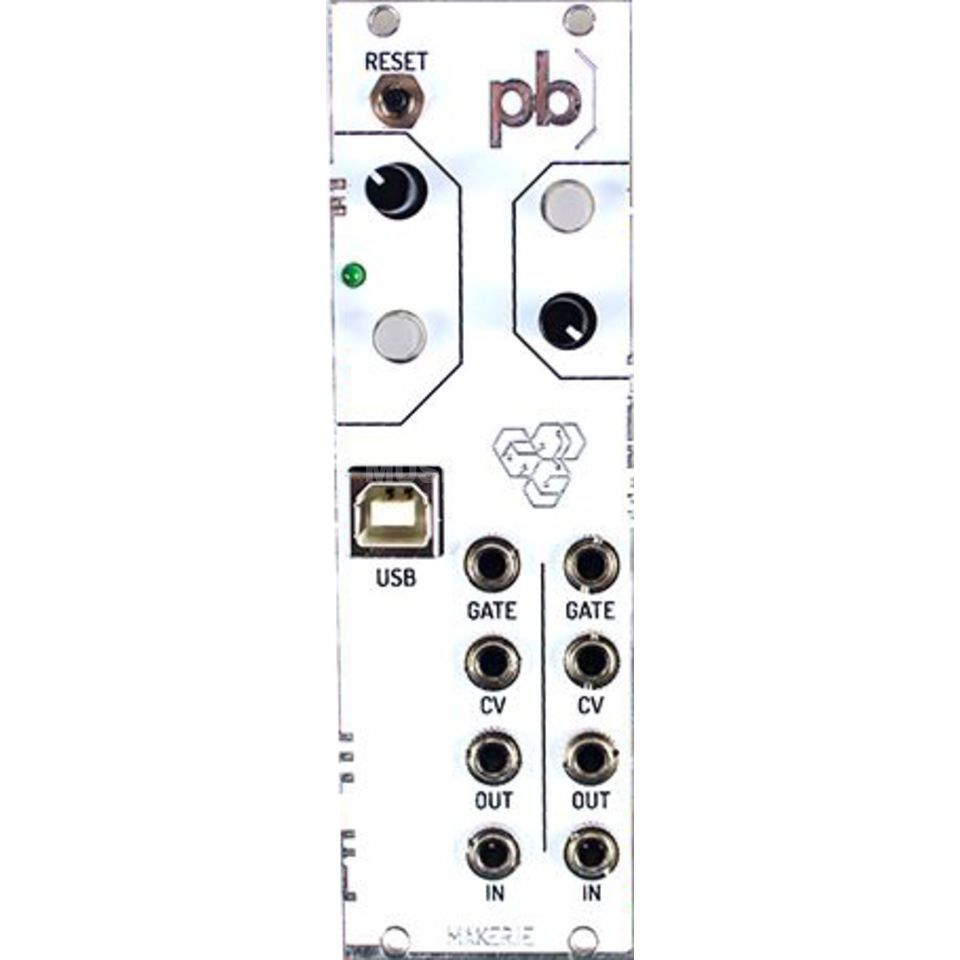 Maker Patchblock Eurorack White Produktbild