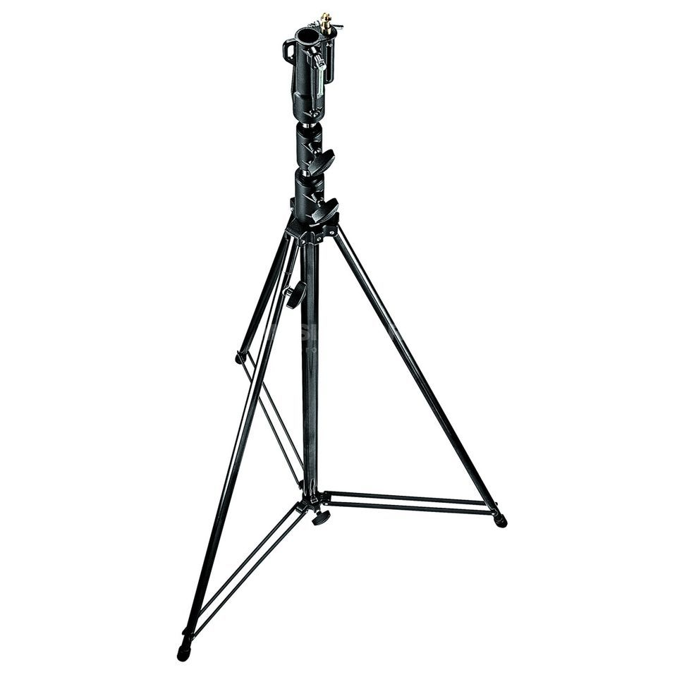 Manfrotto 111BSU Telescopic Stand, 25 kg 3,80m, 3 Sections, 2 Telescopic Produktbillede