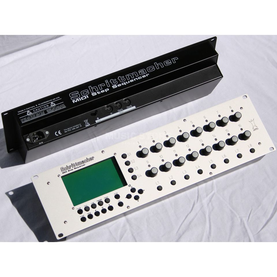 Manikin electronic Schrittmacher MIDI Step Sequencer Produktbillede