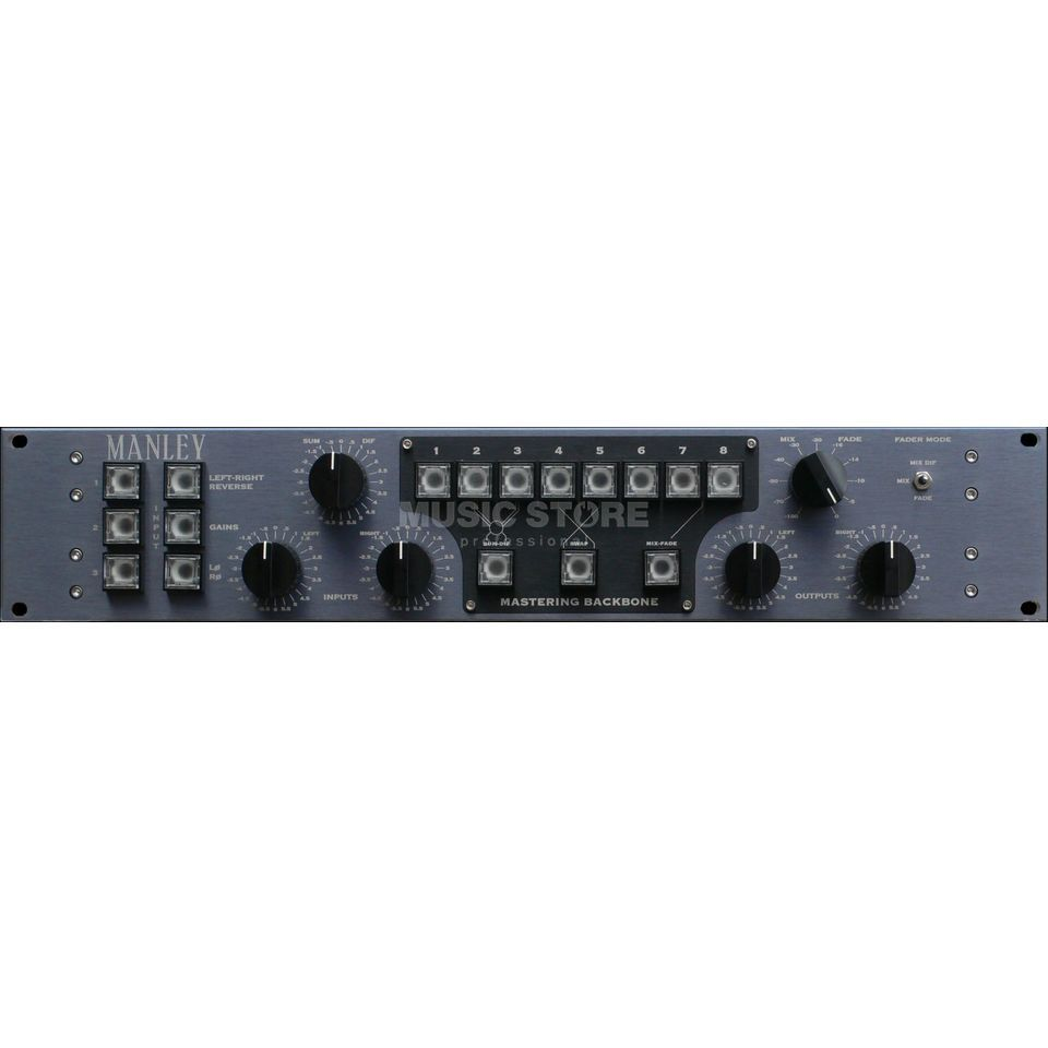 Manley Mastering Backbone EDAC Insert-Switcher with EDAC I/O Produktbillede