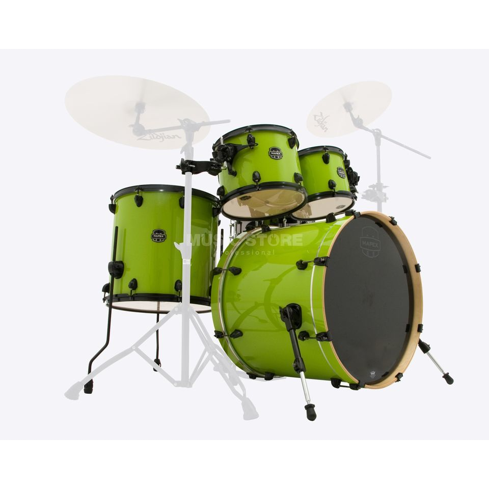 Mapex Armory ShellSet AR529SB, LE, Laser Green #MA Product Image