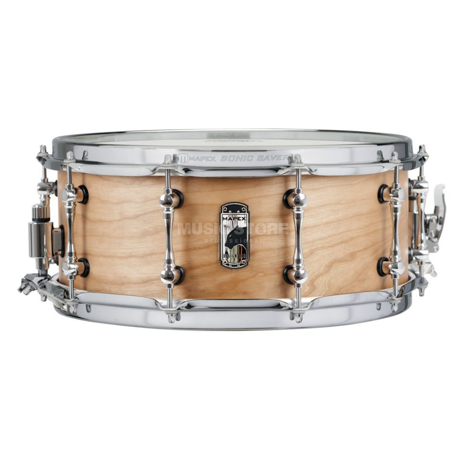 "Mapex Black Panther Design Lab Snare 14""x6"" Cherry Bomb Product Image"