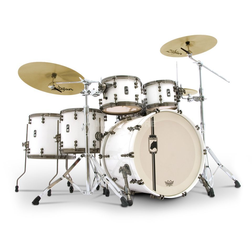 Mapex Black Panther ShellSet NW628XF White Widow, Arctic White #OW Produktbillede