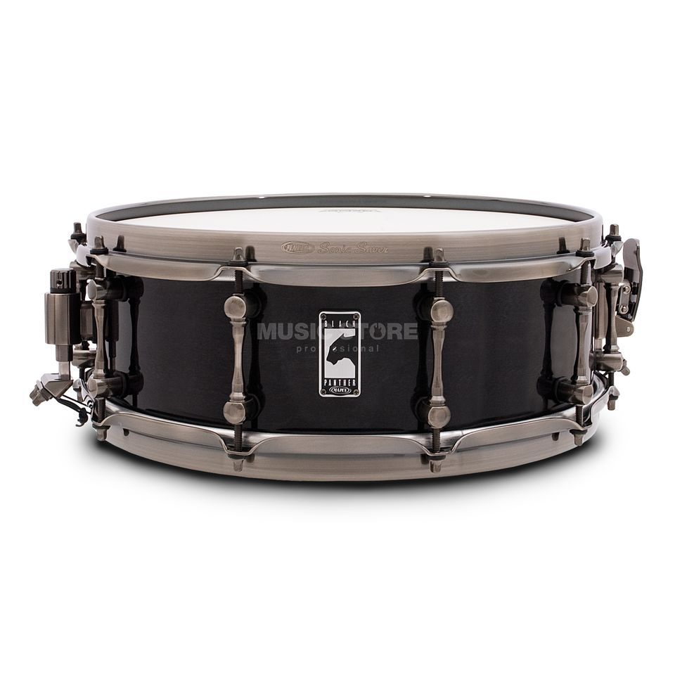 "Mapex Black Panther Snare 14""x5"", ""The Black Widow"" Produktbillede"