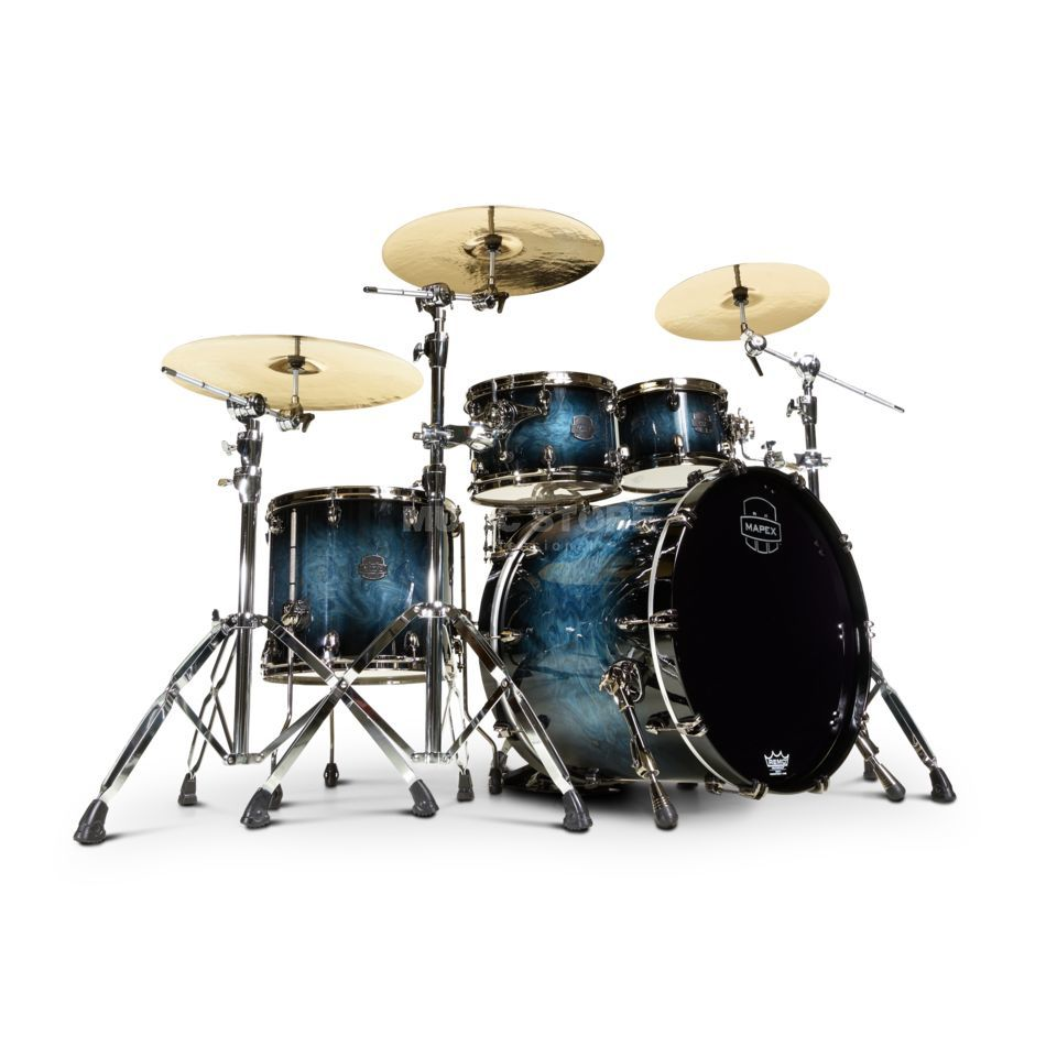 Mapex Saturn V MH Exotic SV529XB, Deep Water Maple Burl #MSL Product Image