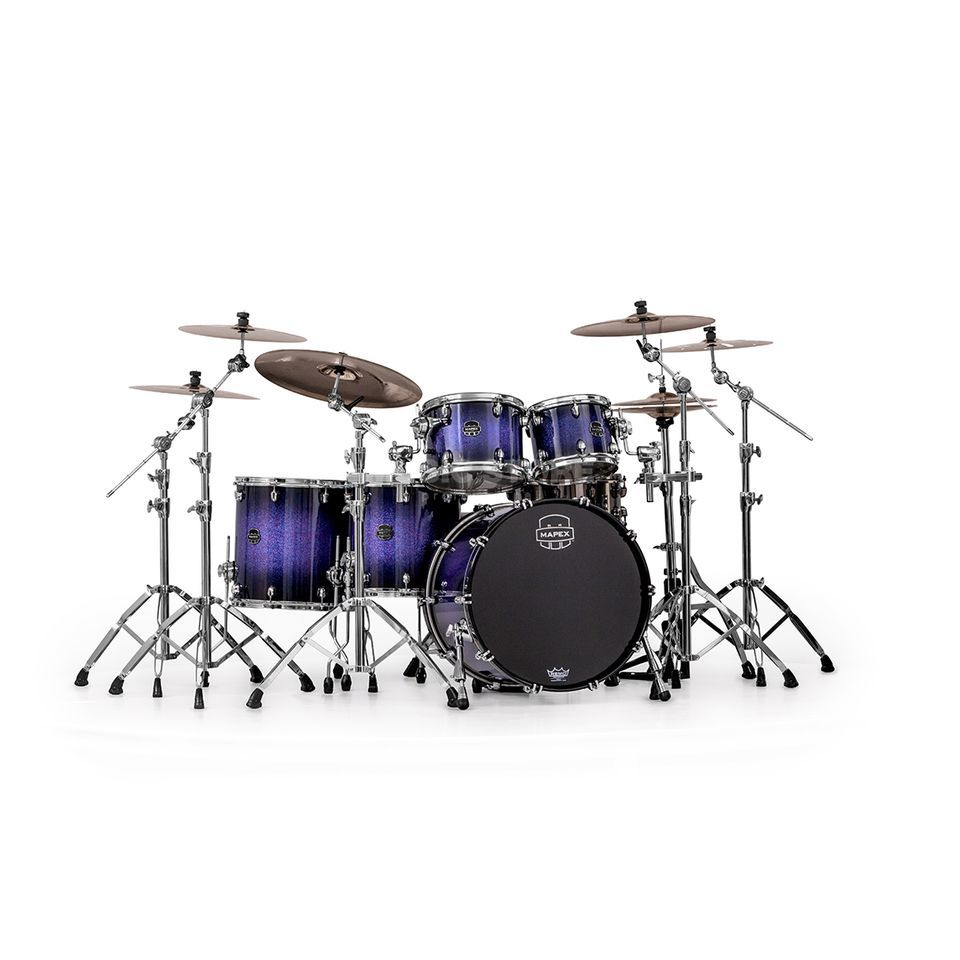 Mapex Saturn V MH SV628X, Red/Blue Hybrid Sparkle #PH Produktbillede