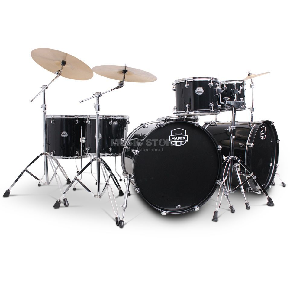 Mapex Voyager Rebel Monster VR7288C, Dark Black #DK Produktbild