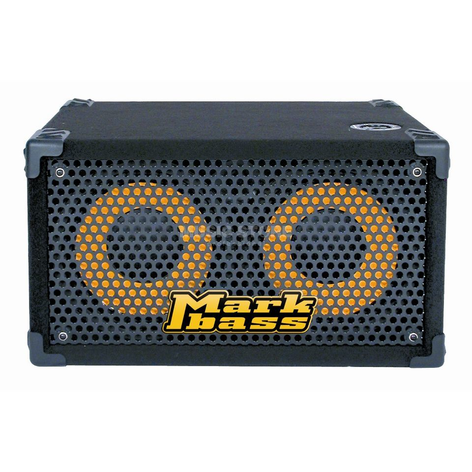 "Mark Bass Traveller 102 P 4 Ohm Cabinet 400W/ 4 Ohm, 2x10"" Speaker Product Image"