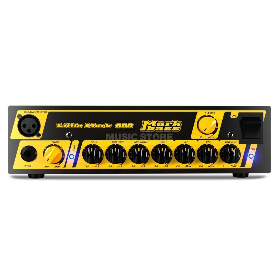 Markbass Little Mark 800 Bass Amplifier  Head   Product Image