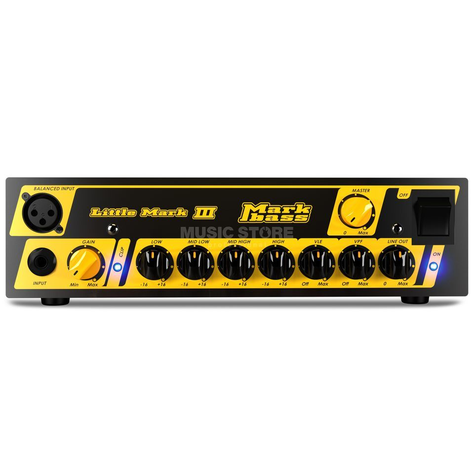 Markbass Little Mark III Bass Amplifier Head Product Image