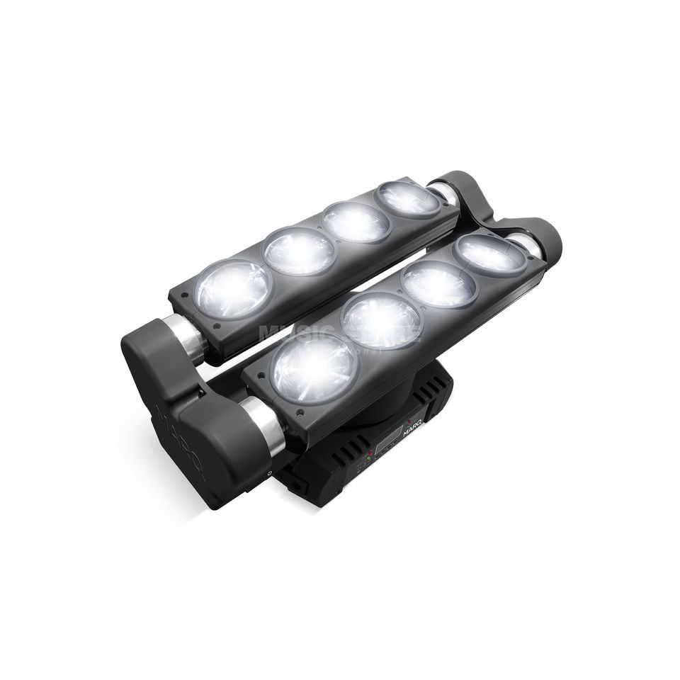 MARQ Lighting Ray Tracer X 8x 10W CREE Dual Tilt Beam Movinghead Produktbild