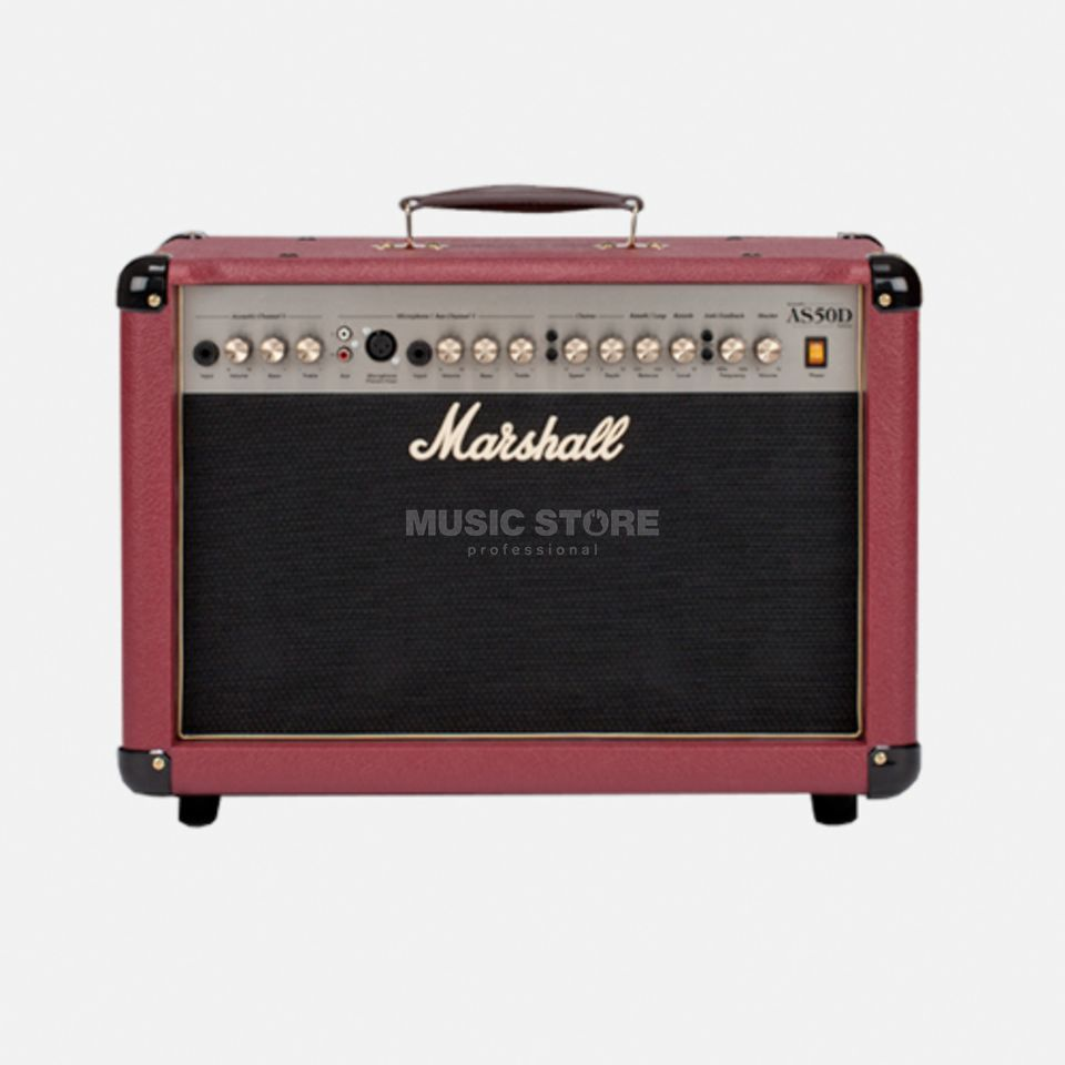 Marshall AS 50DR Red Productafbeelding