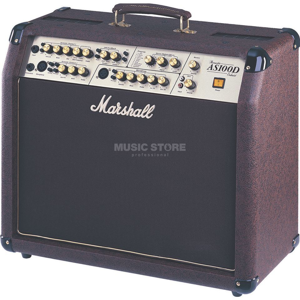 Marshall AS100D Acoustic Guitar Amp Com bo   Produktbillede