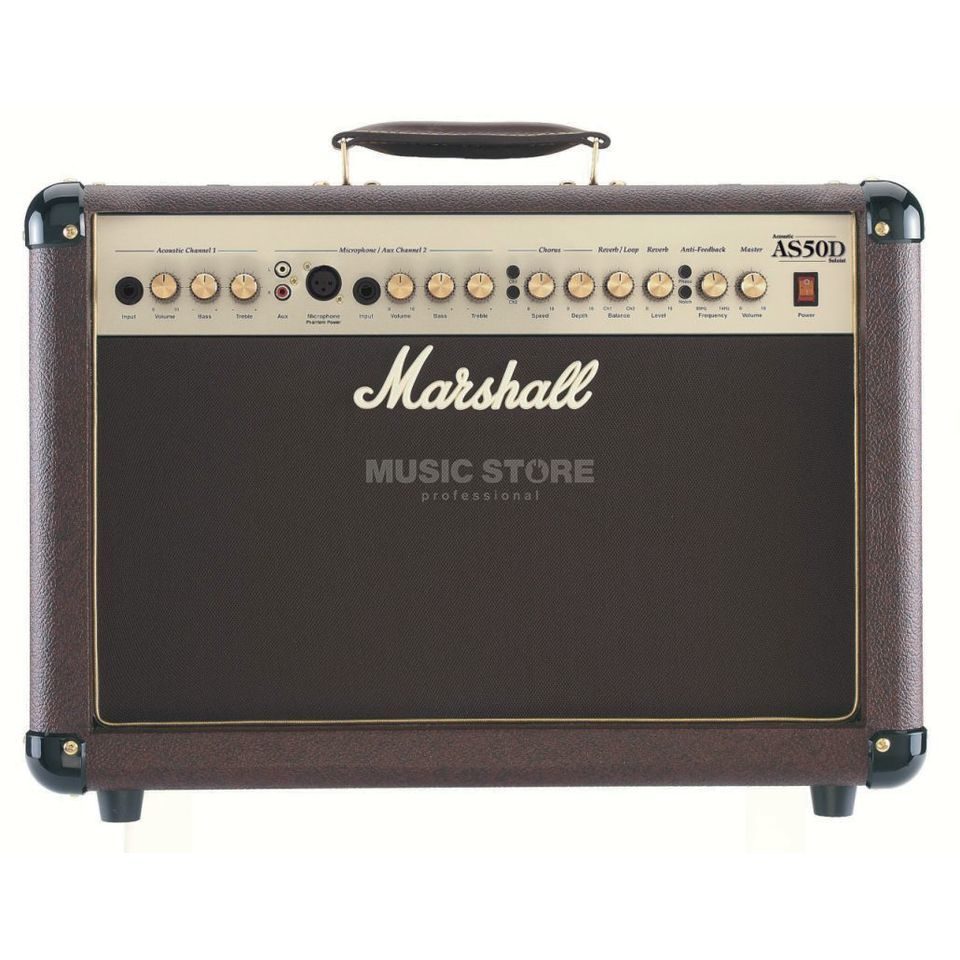 Marshall AS50D Acoustic Guitar Amp Comb o   Produktbillede