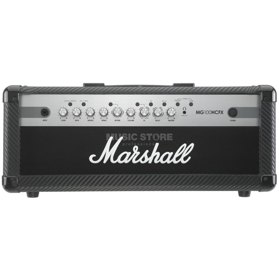 Marshall MG100HCFX Guitar Amp Head    Produktbillede