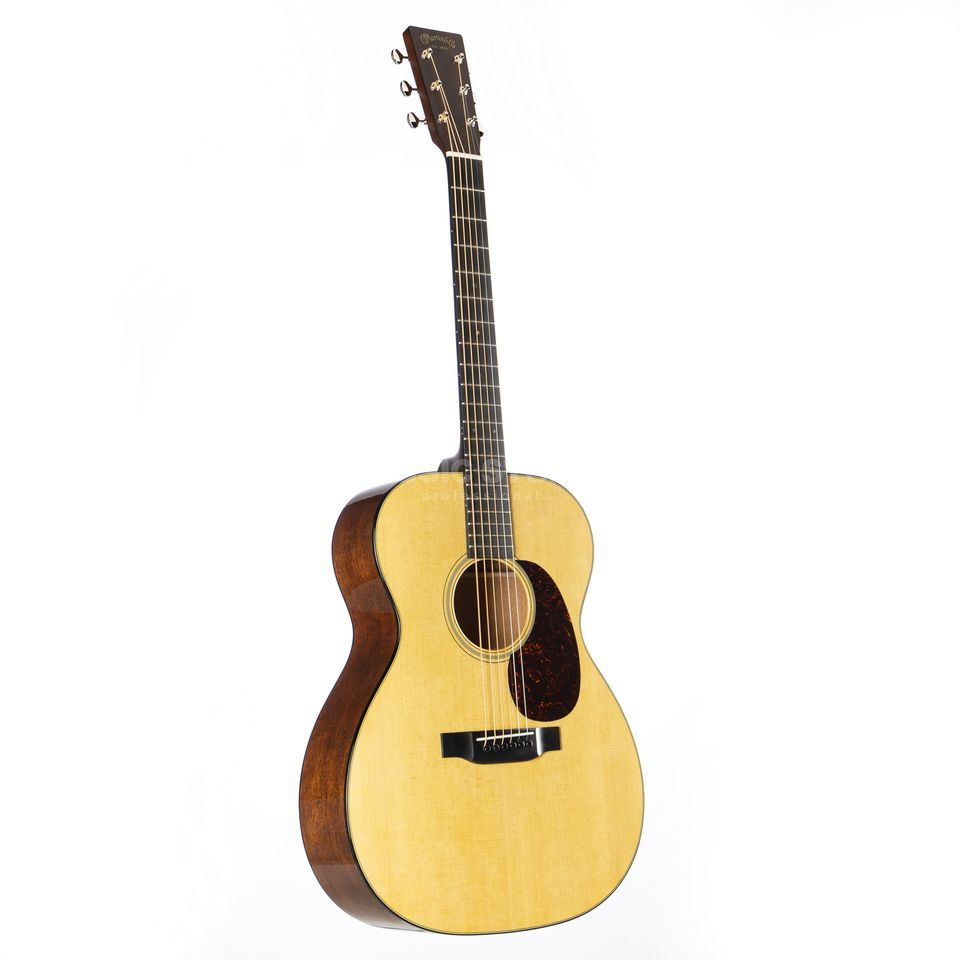 Martin Guitars 000-18 Standard Series, Natural, incl. Case Produktbillede