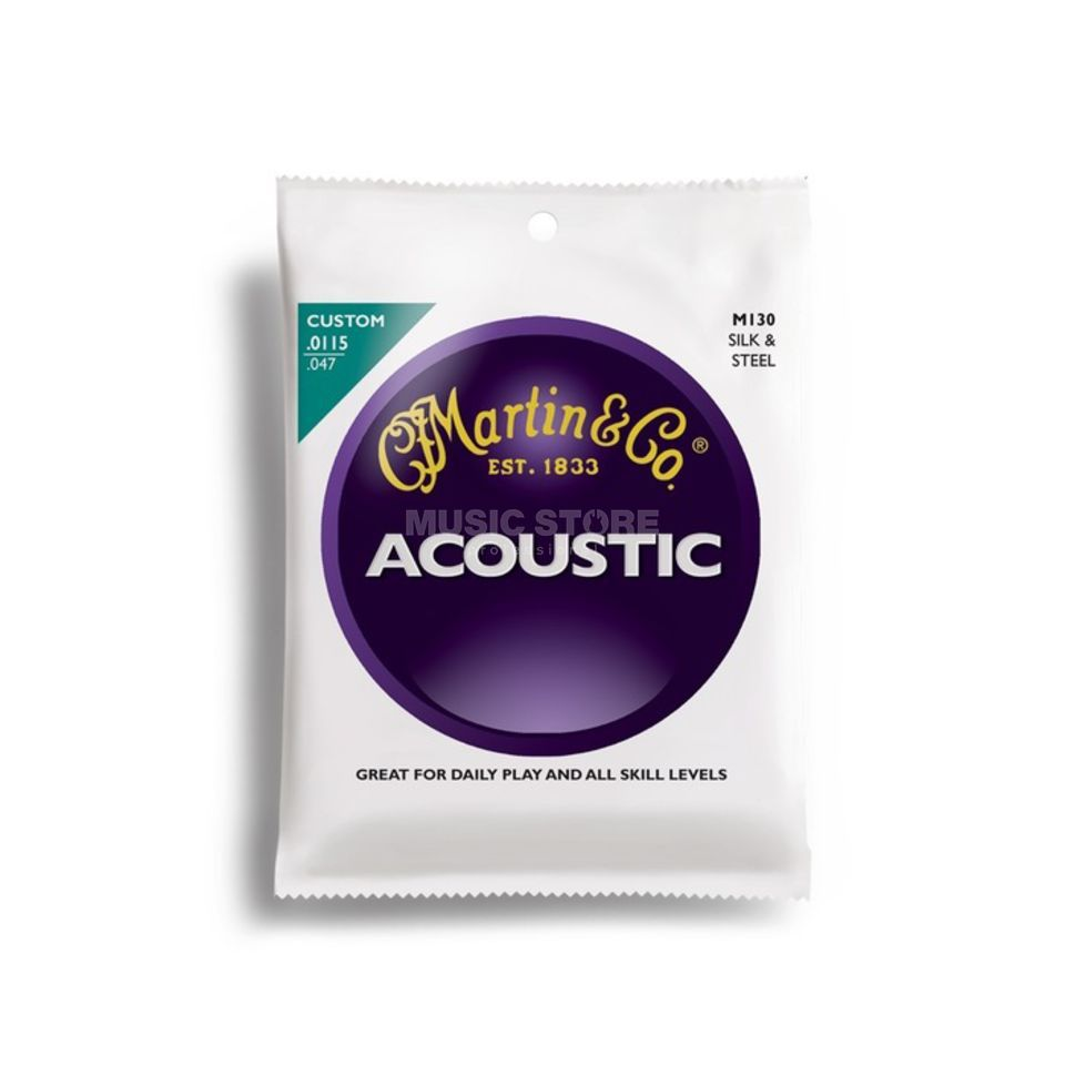 Martin Guitars A-Guitar Strings 115-47 M130 Silk & Steel Immagine prodotto