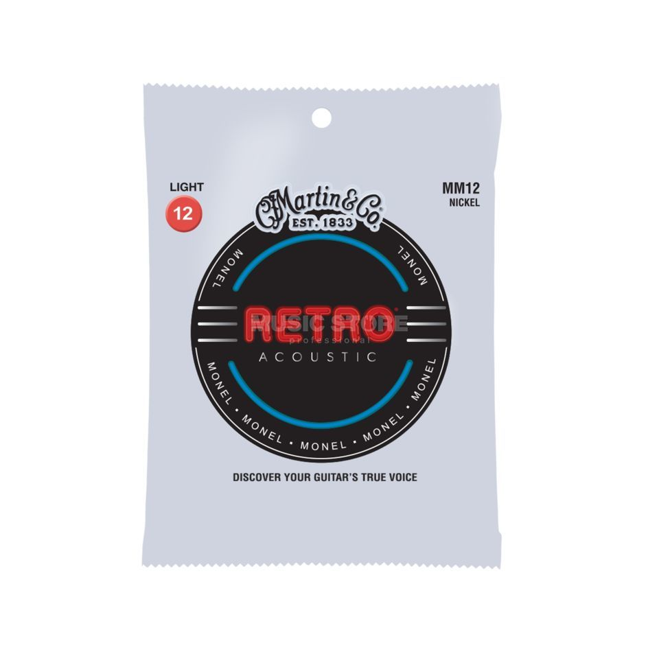 Martin Guitars A-Guitar Strings 12-54 MM-12 Retro Produktbillede