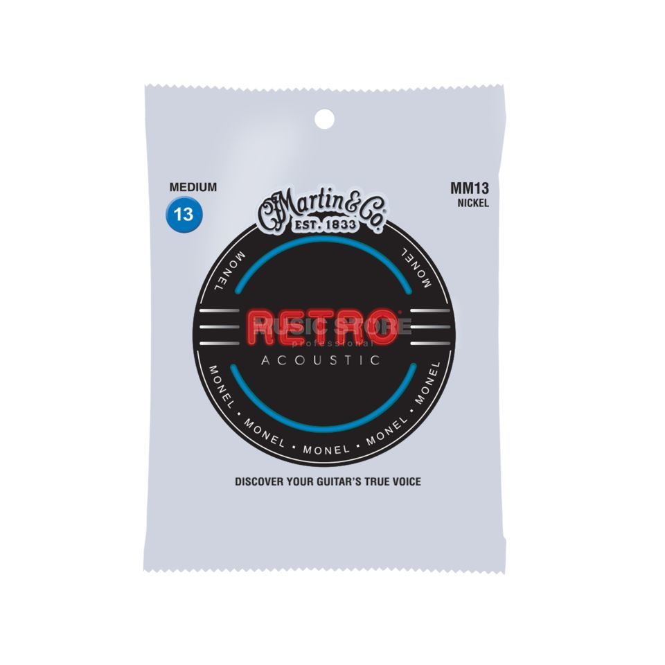 Martin Guitars A-Guitar Strings 13-56 MM-13 Retro Zdjęcie produktu