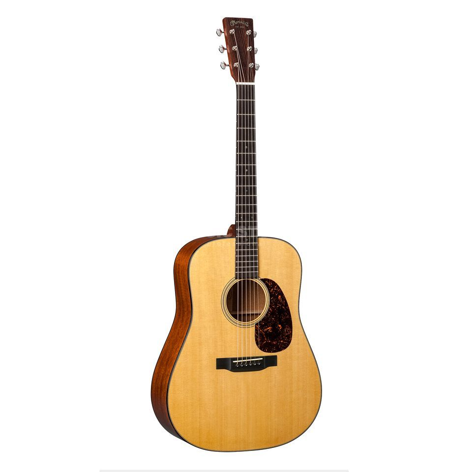 Martin Guitars D-18E Retro Natural Produktbild