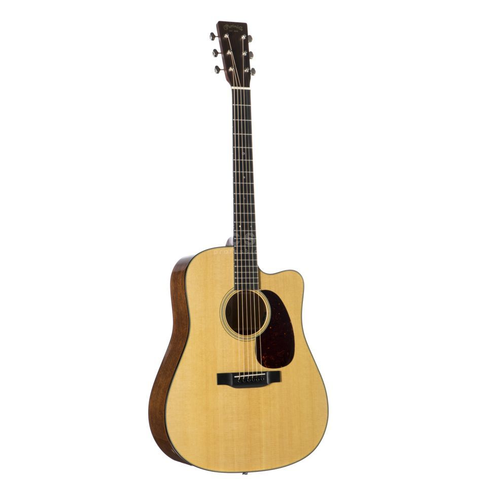 Martin Guitars DC-18E Natural High Gloss Produktbillede