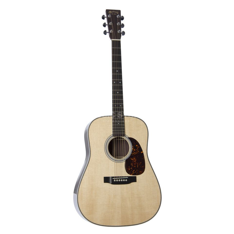 Martin Guitars HD-28 Dreadnought, Standard Series, Natural, incl. Case Produktbillede