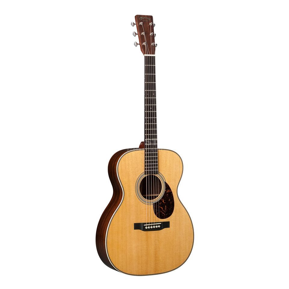 Martin Guitars OM-28E Retro Natural Produktbillede